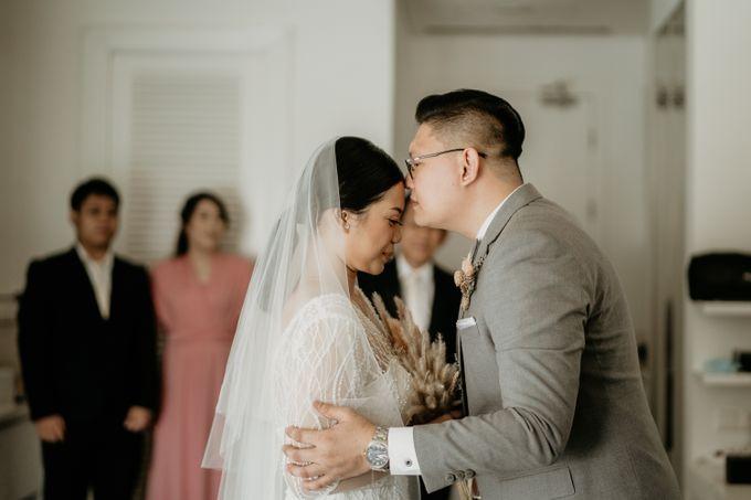 Wedding of Tony & Ivana at Ocha Bella Morrisey Hotel Jakarta by Sparkling Organizer - 015