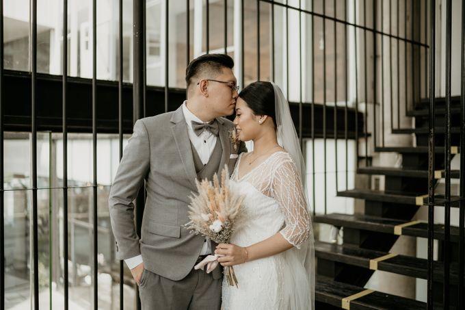 Wedding of Tony & Ivana at Ocha Bella Morrisey Hotel Jakarta by Sparkling Organizer - 017