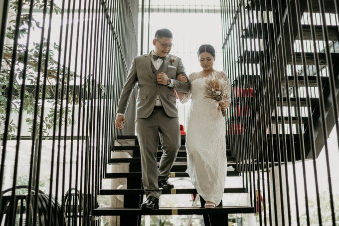 Wedding of Tony & Ivana at Ocha Bella Morrisey Hotel Jakarta by Sparkling Organizer - 019