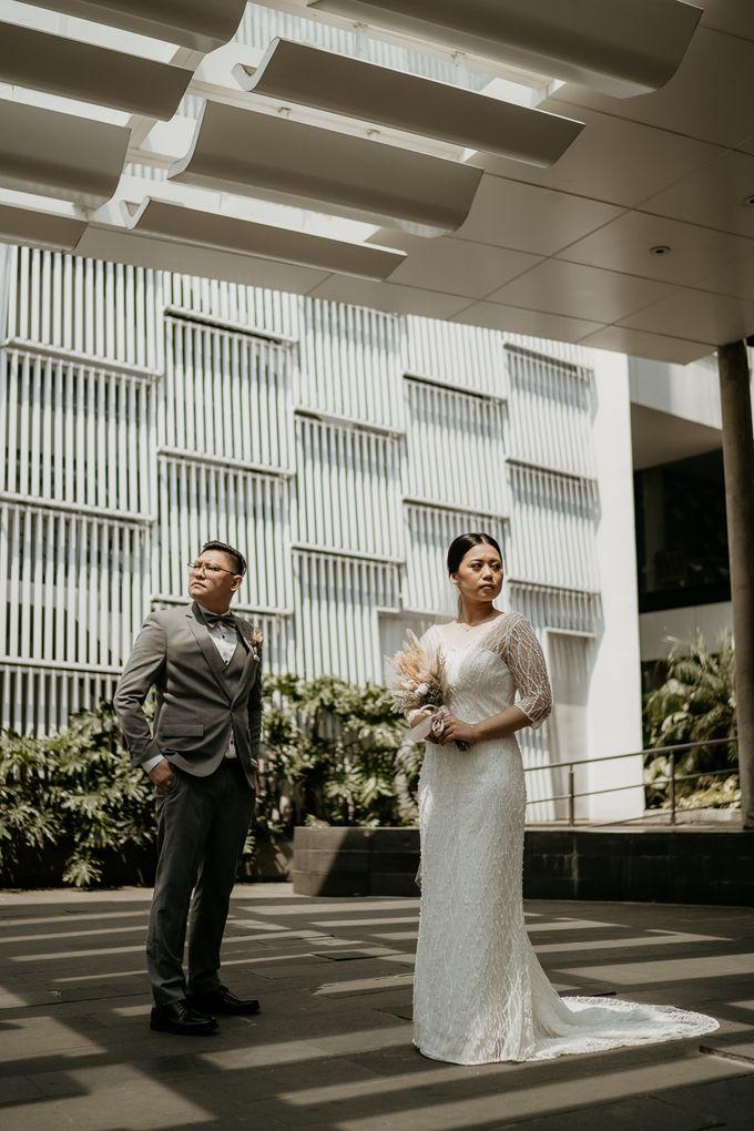 Wedding of Tony & Ivana at Ocha Bella Morrisey Hotel Jakarta by Sparkling Organizer - 020