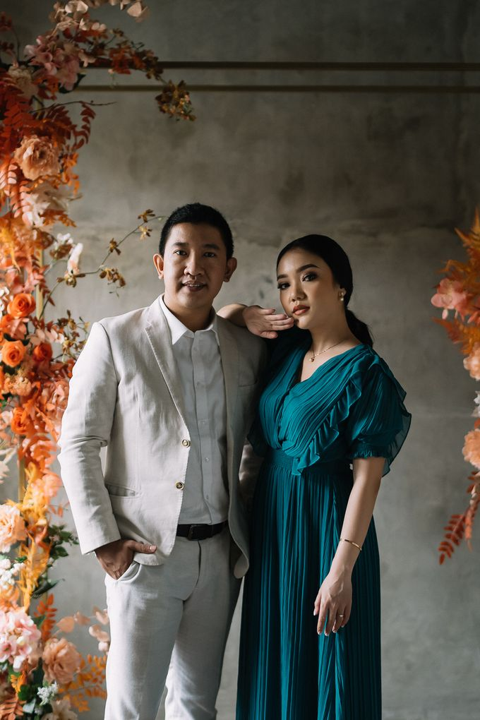 Prewedding of  Yohanna & Benny at Studio Kini Greenville by Warna Project - 013