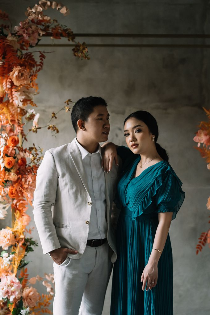 Prewedding of  Yohanna & Benny at Studio Kini Greenville by Warna Project - 014