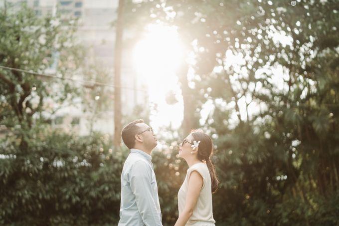 Prewedding of Steven & Betsy at Ayana Midplaza Jakarta by AYANA Midplaza JAKARTA - 021