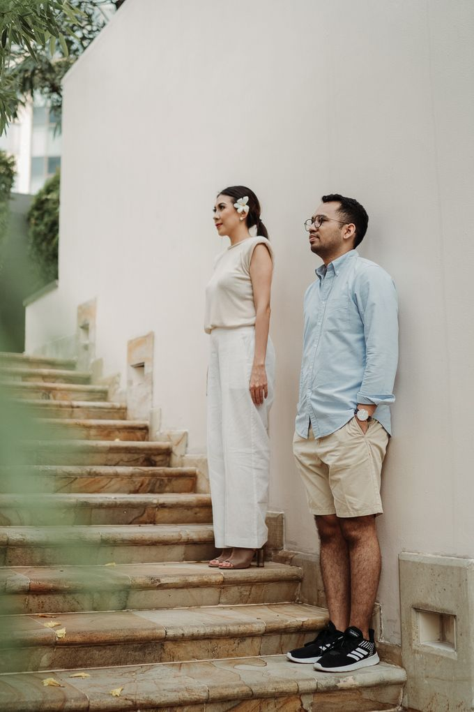 Prewedding of Steven & Betsy at Ayana Midplaza Jakarta by AYANA Midplaza JAKARTA - 025