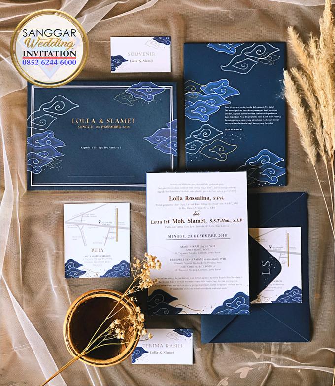 LOLLA & SLAMET (Navy Set Envelope Luxury) by Sanggar Undangan - 002