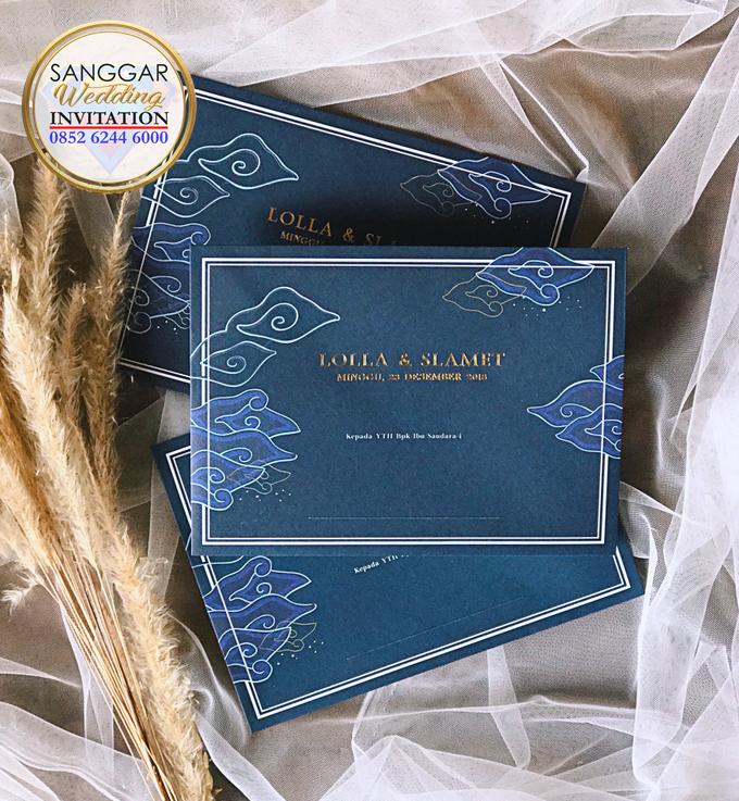 LOLLA & SLAMET (Navy Set Envelope Luxury) by Sanggar Undangan - 001