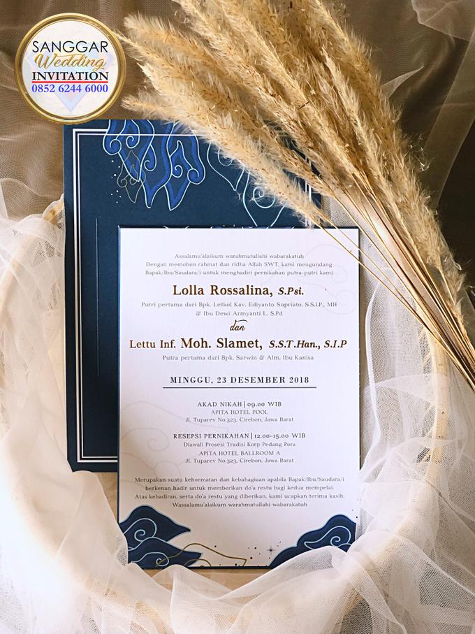 LOLLA & SLAMET (Navy Set Envelope Luxury) by Sanggar Undangan - 003