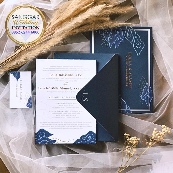 LOLLA & SLAMET (Navy Set Envelope Luxury) by Sanggar Undangan - 004