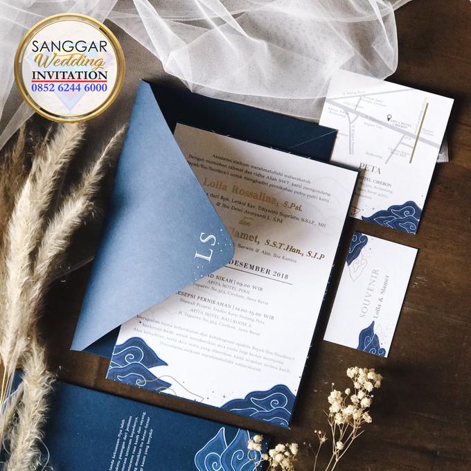 LOLLA & SLAMET (Navy Set Envelope Luxury) by Sanggar Undangan - 005