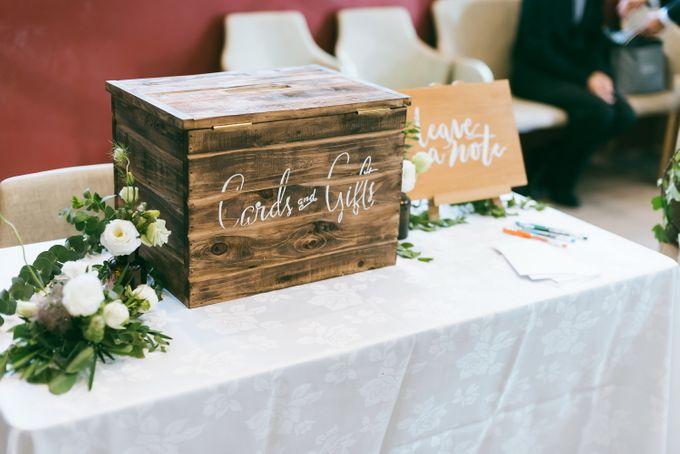 A Garden Wedding | Jonathan & Samantha  by dora prints and paper goods - 006