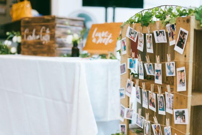 A Garden Wedding | Jonathan & Samantha  by dora prints and paper goods - 007