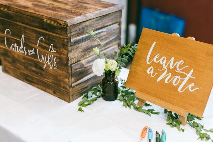 A Garden Wedding | Jonathan & Samantha  by dora prints and paper goods - 008