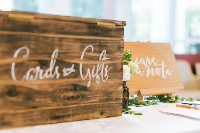 A Garden Wedding | Jonathan & Samantha  by dora prints and paper goods - 010