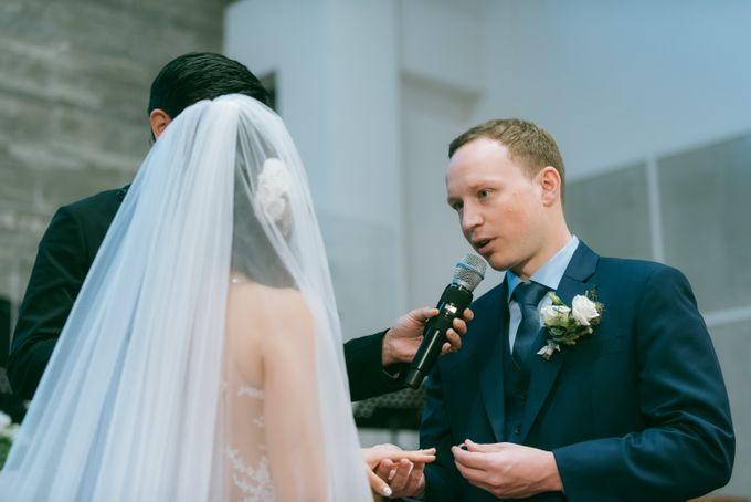 A Garden Wedding | Jonathan & Samantha  by dora prints and paper goods - 017