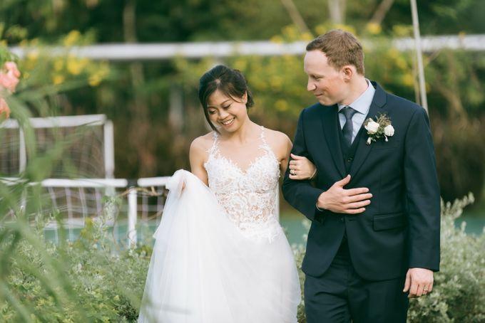 A Garden Wedding | Jonathan & Samantha  by dora prints and paper goods - 024