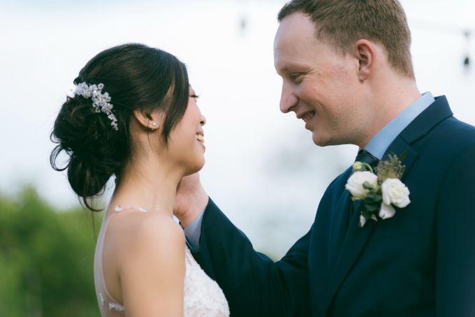A Garden Wedding | Jonathan & Samantha  by dora prints and paper goods - 025
