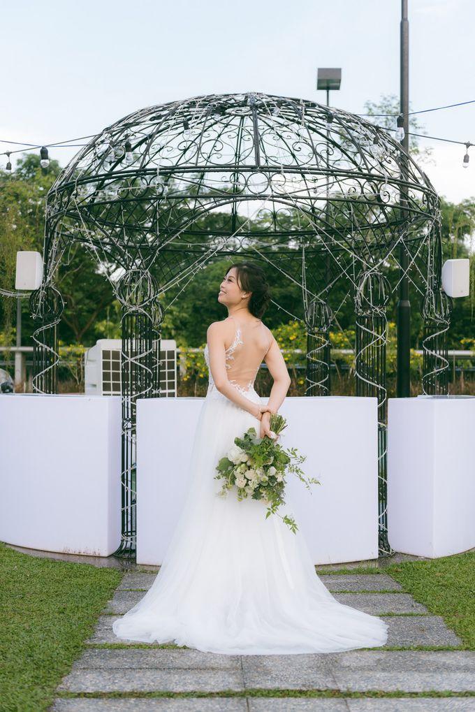 A Garden Wedding | Jonathan & Samantha  by dora prints and paper goods - 026