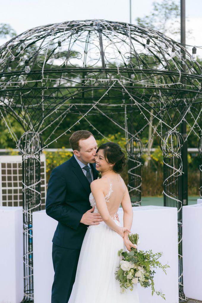 A Garden Wedding | Jonathan & Samantha  by dora prints and paper goods - 027