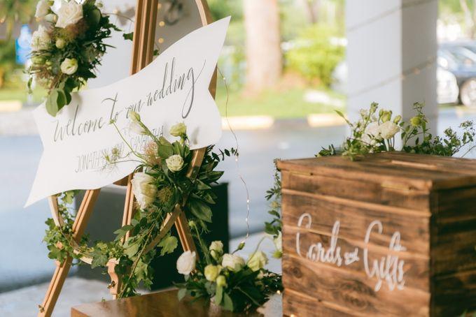 A Garden Wedding | Jonathan & Samantha  by dora prints and paper goods - 035