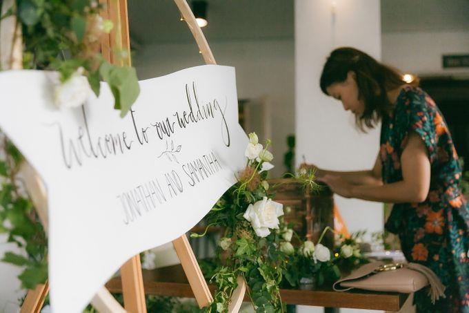 A Garden Wedding | Jonathan & Samantha  by dora prints and paper goods - 036