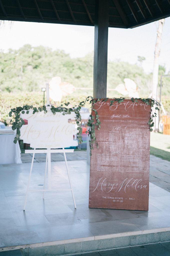 Hary & Mellisa wedding at The Surga Estate by Cloris Decoration & Planner - 012