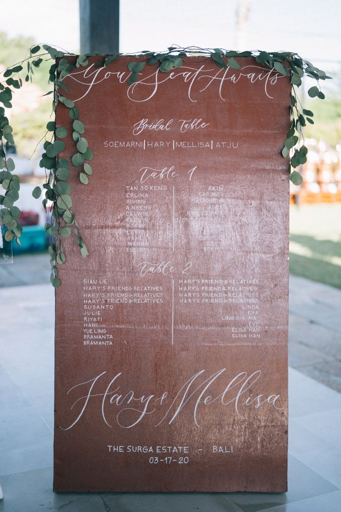 Hary & Mellisa wedding at The Surga Estate by Cloris Decoration & Planner - 014