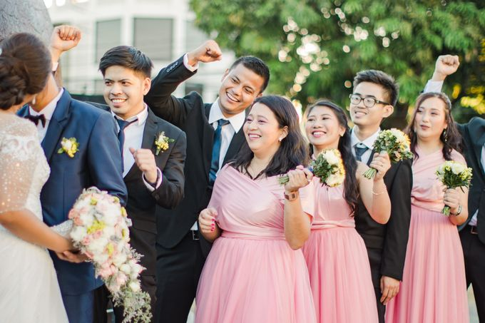 A Sunny Blush Wedding by Love And Other Theories - 038