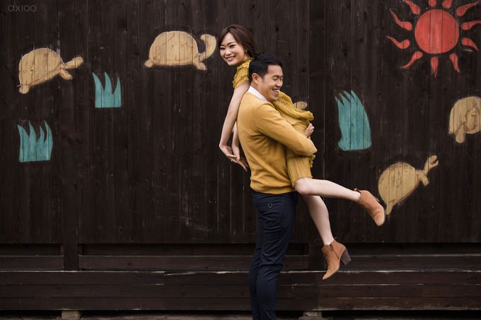 Beauty Apart From Flawessness -  The Prewedding of Jonathan and Audilya by Ivan by Axioo - 043