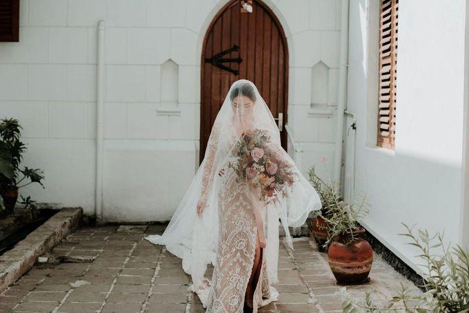 Eliza & Steven Wedding by Pine Hill Cibodas - 003