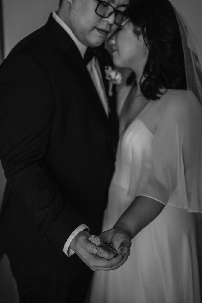 Joshua & Vania Wedding at Mercure Hotel Jakarta by AKSA Creative - 017