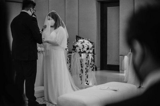 Joshua & Vania Wedding at Mercure Hotel Jakarta by AKSA Creative - 022