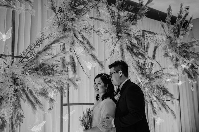 Joshua & Vania Wedding at Mercure Hotel Jakarta by AKSA Creative - 041