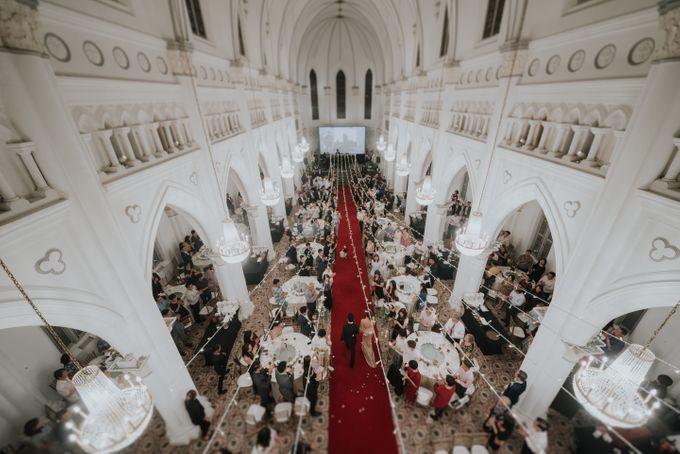 Joshua Joanne - CHIJMES wedding by Pixioo Photography - 043