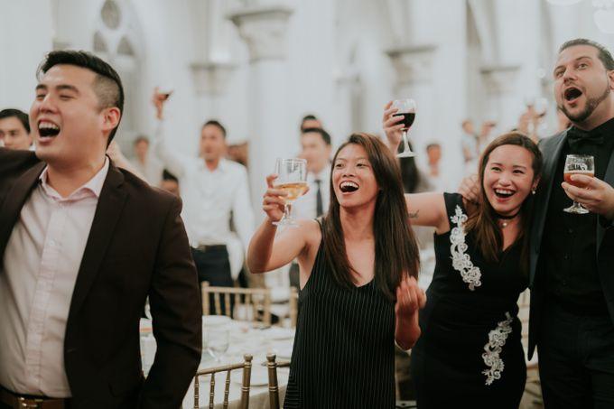 Joshua Joanne - CHIJMES wedding by Pixioo Photography - 046