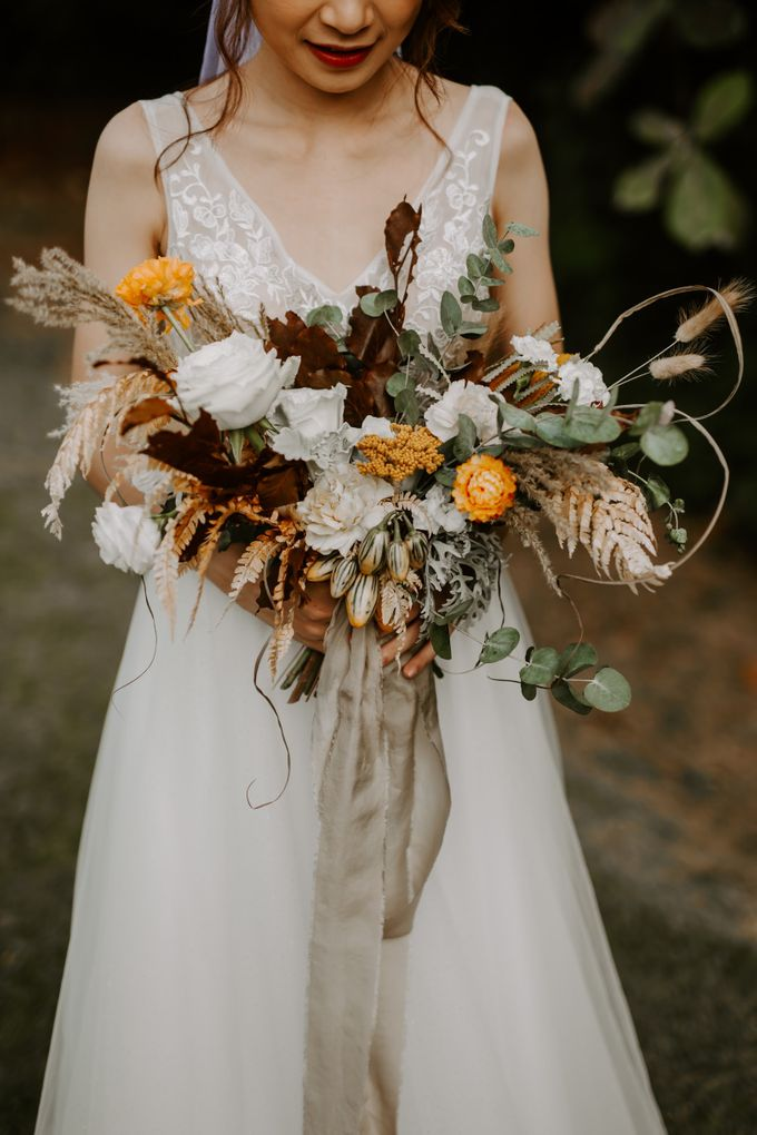 Bridal Bouquets by The Bloomish Eden - 025