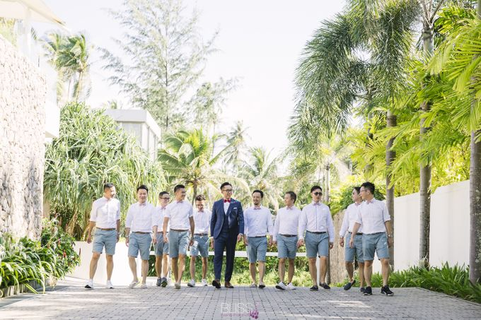 Joyce and Dennis wedding at Sava Beach Villas by BLISS Events & Weddings Thailand - 005