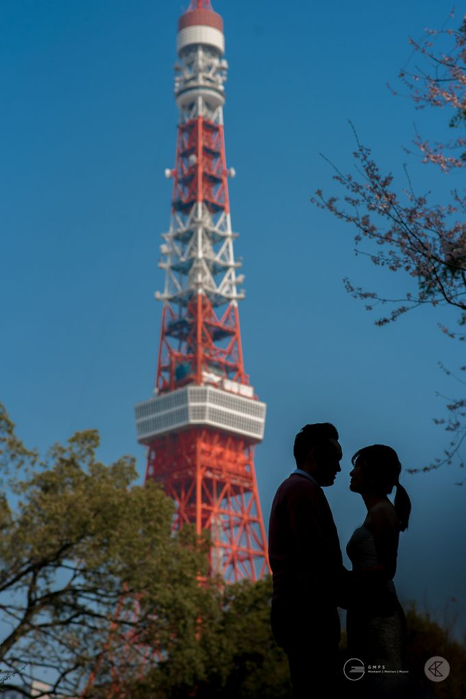 Zen & Irene - Engagement Portraits in Japan by Chester Kher Creations - 001
