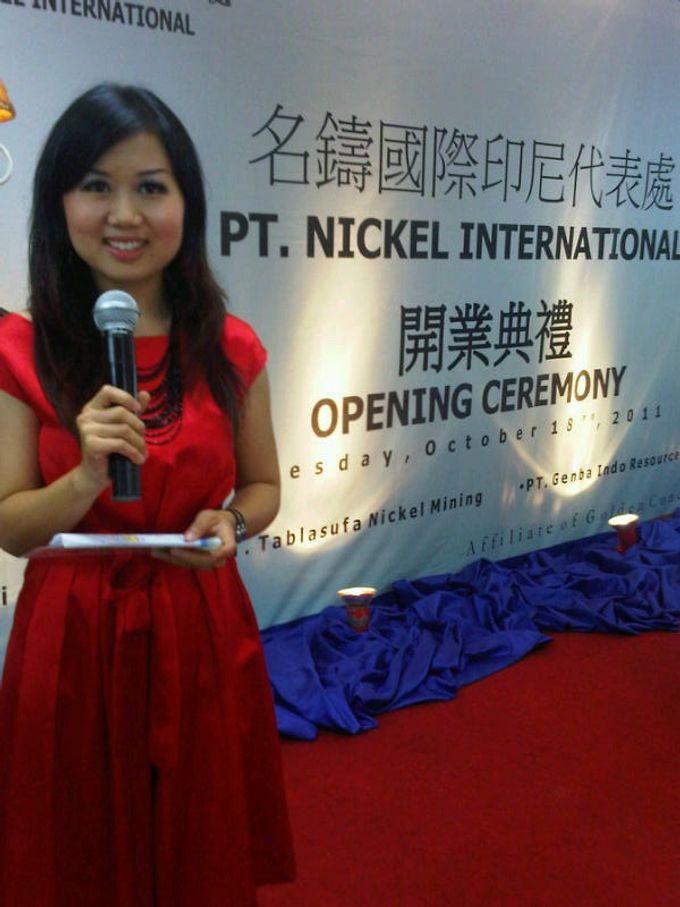 Opening Ceremony PT Nickel International by MC Mandarin Linda Lin - 001