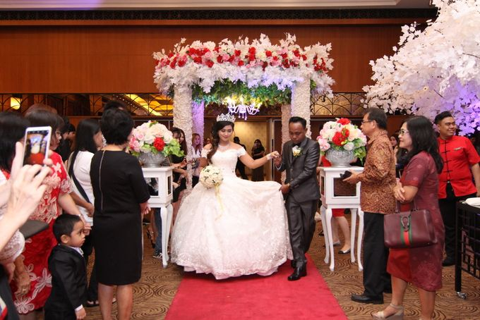 Weddding day of Antonio & Marriana at Angke Restaurant Kelapa Gading by Angke Restaurant & Ballroom Jakarta - 003