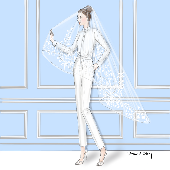 Bridal Illustrations by Draw A Story - 003