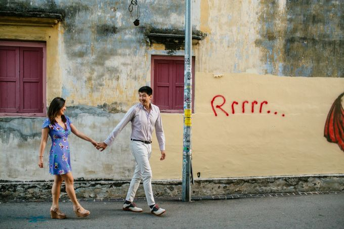 Casual engagement shoot in Penang by Amelia Soo photography - 001
