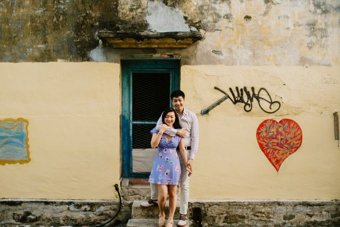 Casual engagement shoot in Penang by Amelia Soo photography - 004