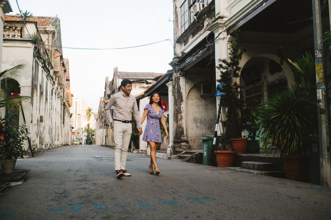 Casual engagement shoot in Penang by Amelia Soo photography - 008