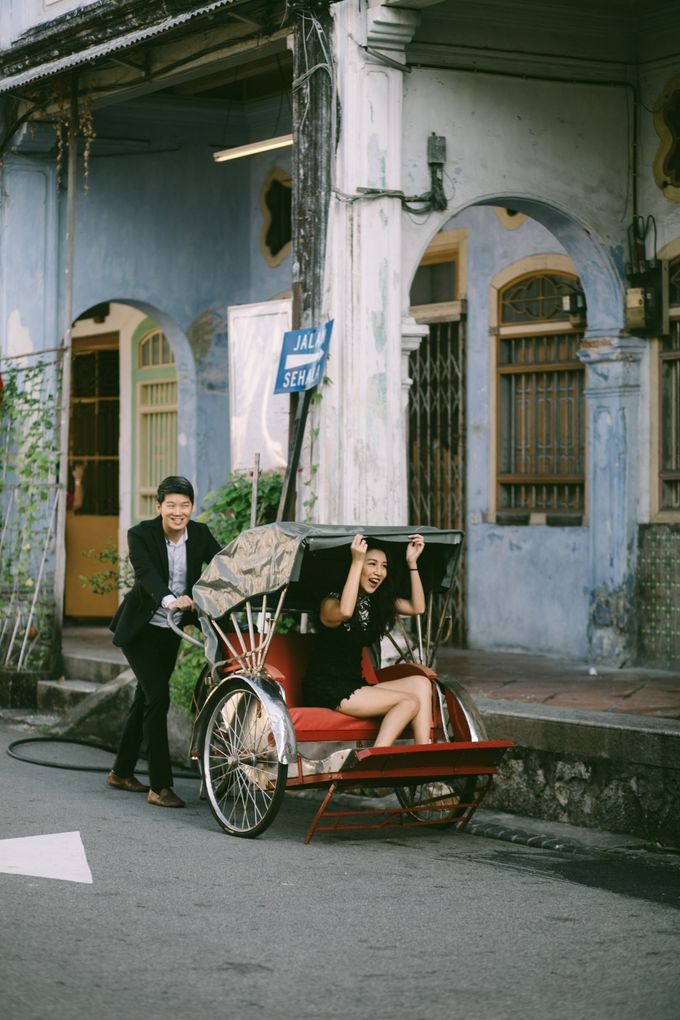 Street Prewedding by Amelia Soo photography - 026