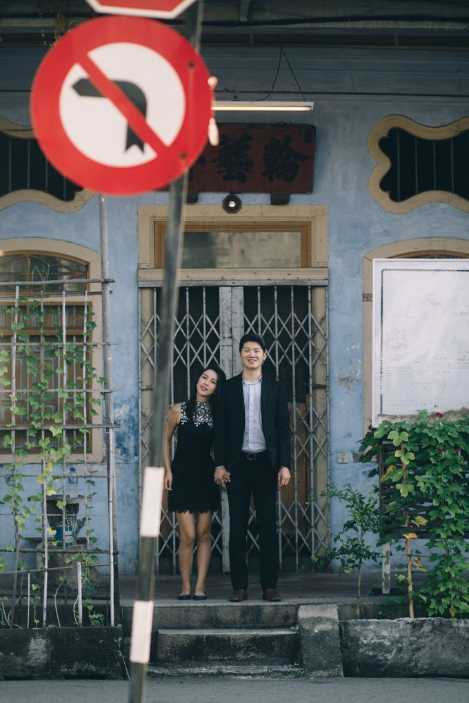 Street Prewedding by Amelia Soo photography - 025