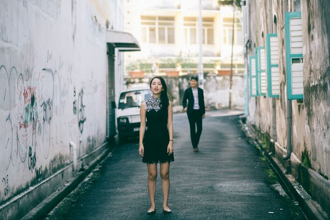Street Prewedding by Amelia Soo photography - 024
