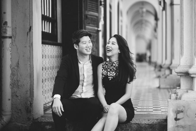 Street Prewedding by Amelia Soo photography - 020
