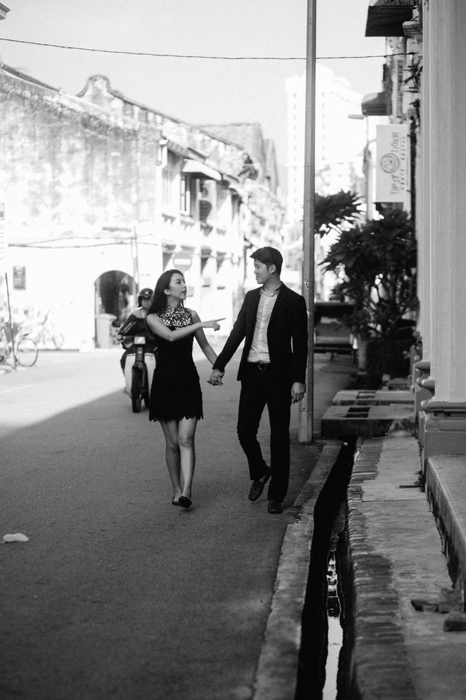 Street Prewedding by Amelia Soo photography - 017