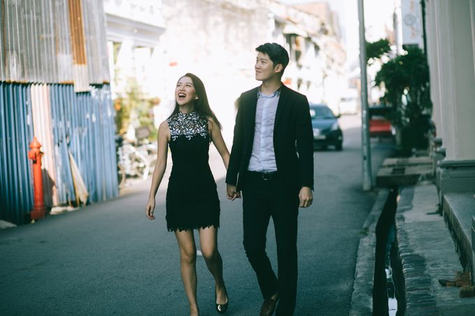 Street Prewedding by Amelia Soo photography - 016