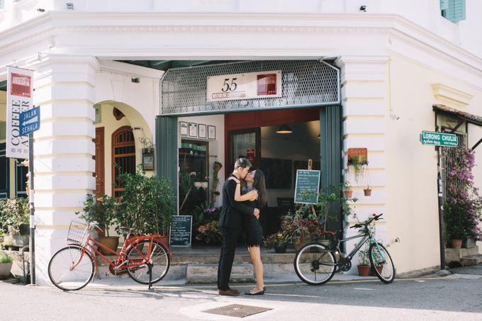 Street Prewedding by Amelia Soo photography - 033